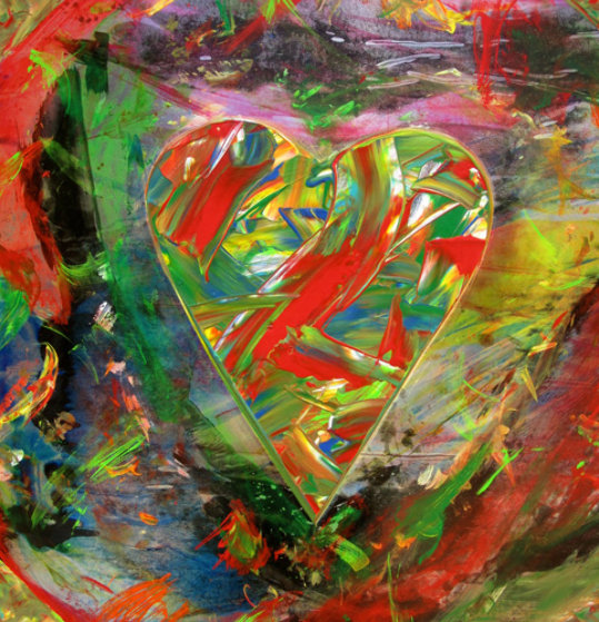 Peace Maker #3 Original Painting by Shahrokh Rezvani