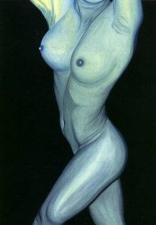 American Madonna #22 26x22 Original Painting - Shahrokh Rezvani