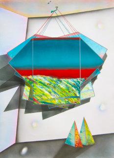 Mystical Equilibrium #4 Works on Paper (not prints) by Shahrokh Rezvani