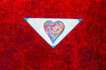 Tranquil Heart #1 2008 28x35 Original Painting - Shahrokh Rezvani