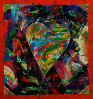 Benevolence #1 Original Painting by Shahrokh Rezvani