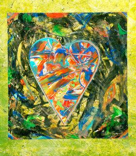 Benevolence #2 Works on Paper (not prints) by Shahrokh Rezvani
