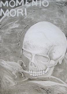 Momento Mori 2001 41x30 Original Painting by Rudy  Fernandez