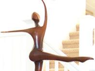 She Dances Bronze Sculpture 1994 42 in Sculpture by Robert Holmes - 1