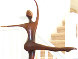 She Dances Bronze Sculpture 1994 42 in Sculpture by Robert Holmes - 1