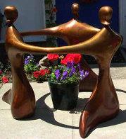 Circlet  (Medium) Bronze Sculpture 2007 36 in  Sculpture by Robert Holmes - 0