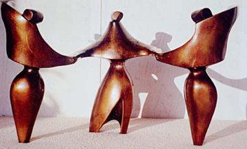 Bolero Bronze Sculpture 1990 18 in Sculpture by Robert Holmes