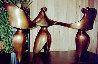 Bolero Bronze Sculpture 1990 18 in Sculpture by Robert Holmes - 1