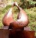 Conversation Bronze Sculpture 38x36 in Sculpture by Robert Holmes - 1