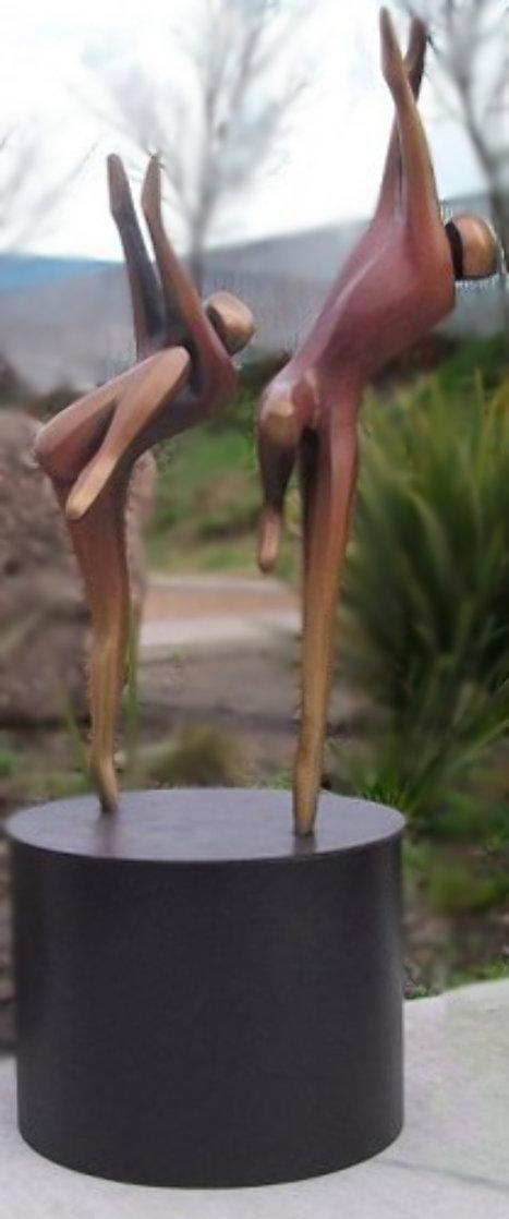 Just Dancing Bronze Sculpture AP 1996 48x24  Sculpture by Robert Holmes
