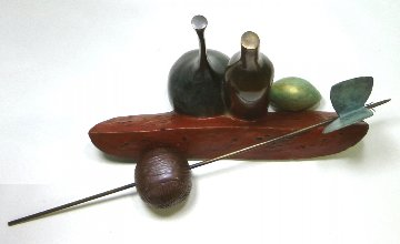 Ode to Hamaguchi Bronze Sculpture 2003 96 in Sculpture by Robert Holmes