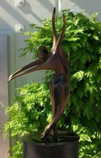 Dancers II (Small) Bronze AP Sculpture  1990 30x16 Sculpture by Robert Holmes