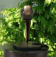 Skater (Small) Bronze Sculpture 12x20 Sculpture by Robert Holmes - 3
