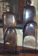 I Am (Standing Pair) Bronze Sculpture Sculpture by Robert Holmes - 0