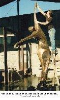 Dancers II Bronze Sculpture, 11 Ft. 126 in Sculpture by Robert Holmes - 7