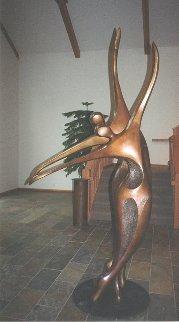 Dancers II Bronze Sculpture, 11 Ft.   Sculpture by Robert Holmes