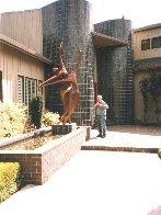 Dancers II Bronze Sculpture, 11 Ft. 126 in Sculpture by Robert Holmes - 3