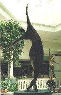Dancers II Bronze Sculpture, 11 Ft. 126 in Sculpture by Robert Holmes - 4