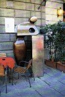 Mr. G Bronze Sculpture Life Size 2002  7 Ft. Sculpture by Robert Holmes - 2