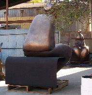 Mr. And Mrs. Nantua Bronze Sculpture 1999  6 Ft Sculpture by Robert Holmes - 2