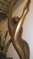 Ascending Dancers (Monumental) Bronze Sculpture 123 in high Sculpture by Robert Holmes - 2