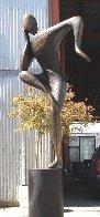 Balance, 6 ft (Large)  Bronze Sculpture 102 In Sculpture by Robert Holmes - 1