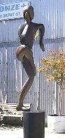 Balance, 6 ft (Large)  Bronze Sculpture 102 In Sculpture by Robert Holmes - 3