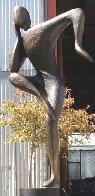 Balance, 6 ft (Large)  Bronze Sculpture 102 In Sculpture by Robert Holmes - 0