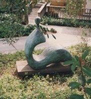 Cici (Large) Bronze Sculpture 1992 60x60x27 Sculpture by Robert Holmes - 2