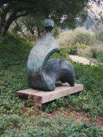 Cici (Large) Bronze Sculpture 1992 60x60x27 Sculpture by Robert Holmes - 3
