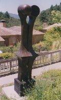 Echo (Monumental) Bronze Sculpture 1992 96 in high Sculpture by Robert Holmes - 2