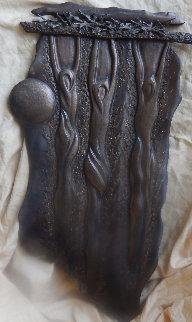 Returning Bronze  Sculpture 24 in Sculpture - John Richen