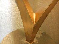 Swan Metal Unique Sculpture 2001 50 in Super Huge Sculpture by John Richen - 16
