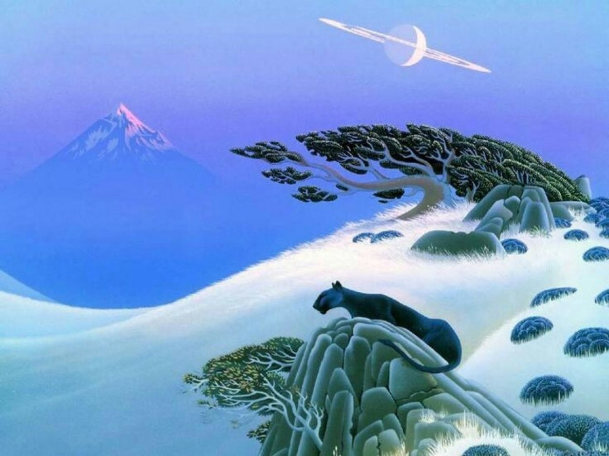 Moon Planet 1993 Limited Edition Print by Bruce Ricker