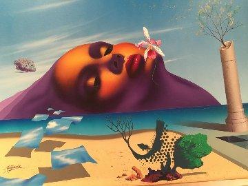 New Hope - Atlantis 1992 30x40 Original Painting by Rick Garcia