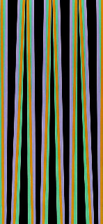 Elongated Triangle 6 1971 Limited Edition Print by Bridget Riley