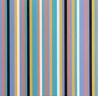 Serpentine Print 1999 Limited Edition Print - Bridget Riley