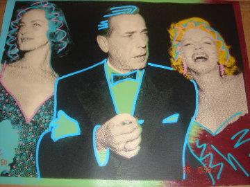 Humphrey Bogart, Marilyn Monroe, Lauren Bacall 2004 Limited Edition Print by  Ringo