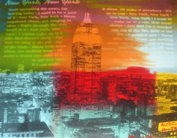 New York, New York Unique 2004 15x15 Limited Edition Print by  Ringo