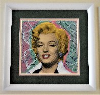 Marilyn 2005 18x18 Embellished Collaboration Limited Edition Print by  Ringo - 6