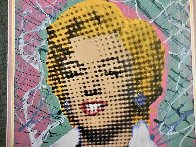 Marilyn 2005 18x18 Embellished Collaboration Limited Edition Print by  Ringo - 2