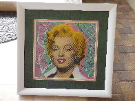Marilyn 2005 18x18 Embellished Collaboration Limited Edition Print by  Ringo - 3