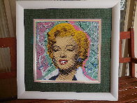 Marilyn 2005 18x18 Embellished Collaboration Limited Edition Print by  Ringo - 4
