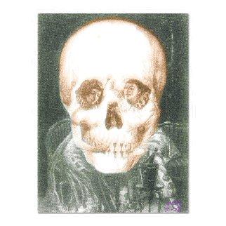 Gothic Skull (Dali Homage). Limited Edition Print -  Ringo