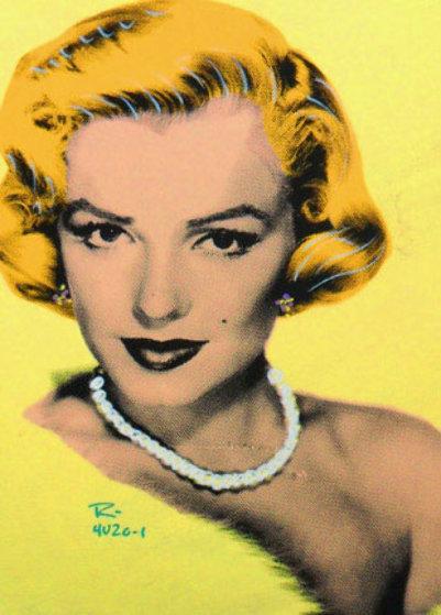 Elegant Marilyn Monroe 2004 Limited Edition Print by  Ringo
