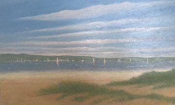 Morning Sailing 2001 40x60 Original Painting - Rino Li Causi