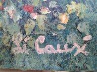 Untitled Landscape 1980 24x36 Original Painting by Rino Li Causi - 1