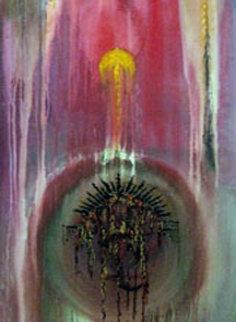 Easter 1992 72x24 Super Huge Original Painting - Ellwood T Risk