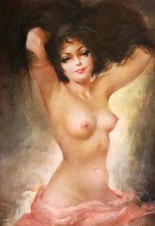In the Morning 30x40 Original Painting - Julian Ritter