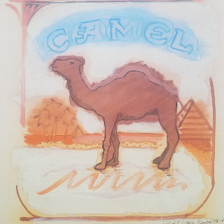 Camel AP 1978 22x23 Limited Edition Print - Larry Rivers